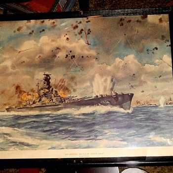 Air Defense, Battle of Santa Cruz by Dwight Shepler - Military and Wartime