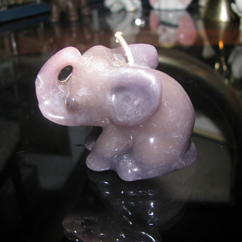Elephant Candle - Animals