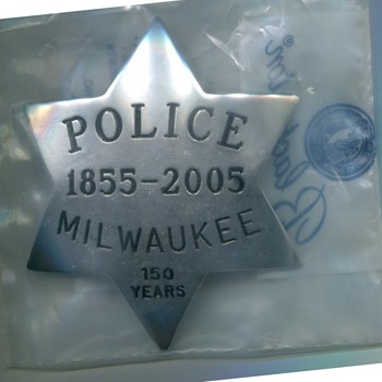 MPD 150th Anniv. Badge - Medals Pins and Badges