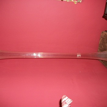 Baccarat Crystal 4.5 ft tall Vase
