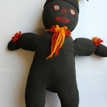 Black sock doll