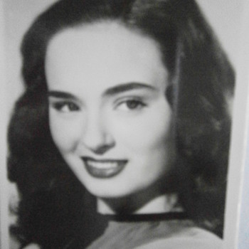 American actress Ann Blyth