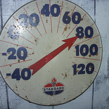 standard thermometer - Advertising