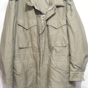 JACKET ,SHELL,FIELD M-1951 - Military and Wartime
