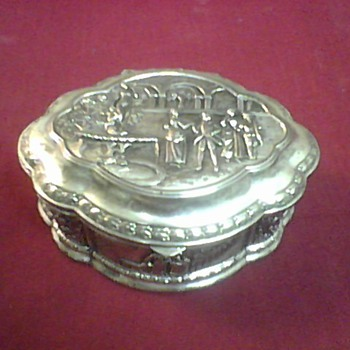 JAPAN TRINKET BOX - Asian