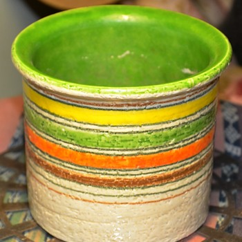another Mid-Century Bitossi for Raymor Piece - Art Pottery