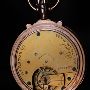 Antique  14k Pocket Watch - American Watch Company - Model 1873 -  Royal  - Pocket Watches