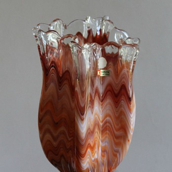 Kurata meets Missoni - Art Glass