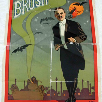 "Original ""Brush The Great"" Stone Lithograph Poster - Posters and Prints"