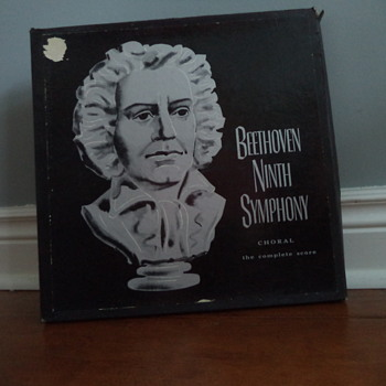 Vintage Beethoven 9th Symphony Choral - Records