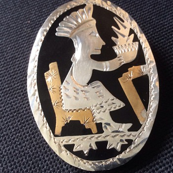 Mexican Aztec pendant