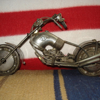 SCRAP METAL MOTORCYCLE