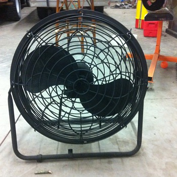 2 blade industrial fan
