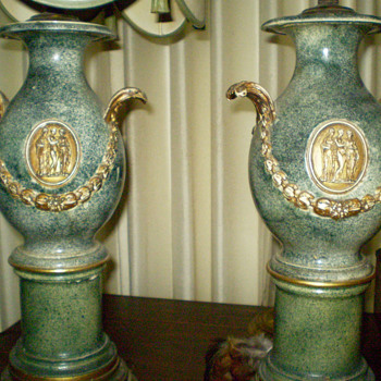Lamps from Grandparents, Wedgewood? - Lamps