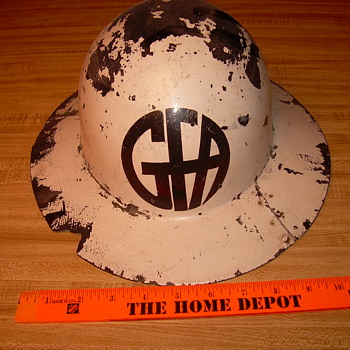 My Grand father's Honorary Fire Chief helmet. - Firefighting