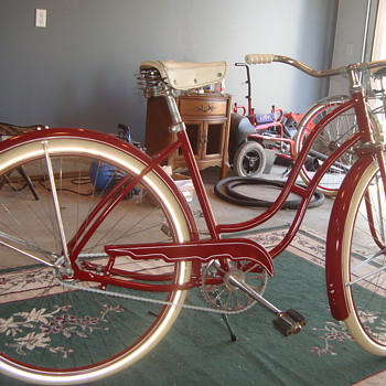 Sunshine Bicycle 1955 0r 1956   Massey Harris - Sporting Goods