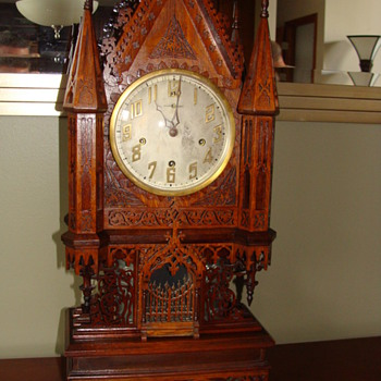 Fretwork Clock - Clocks