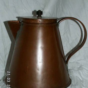 Antique Large Copper Water Pot ~ 1800's