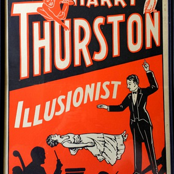 Original Harry Thurston Lithograph Poster ca. 1930 - Posters and Prints