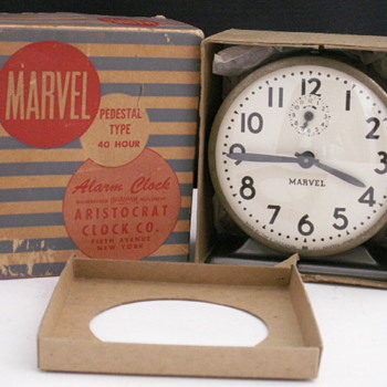 Marval Alarm by The E. Ingraham Co. - Clocks