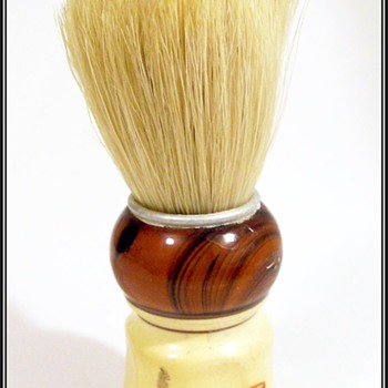 Vintage West Germany Shaving Brush - Pure Bristles - Accessories
