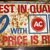 AC Delco Sign