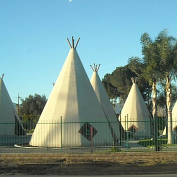 Wigwam Motel Rialto Route 66 - Photographs