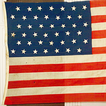 42 Stars Putnam 12 ' by 25' huge - Military and Wartime