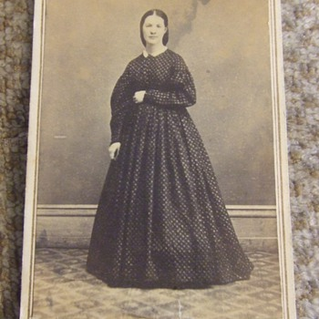 CDV of Woman from Clarksville, TN - Photographs
