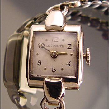 Ladies&#039; Vintage Gold-Filled LeCoultre Wristwatch c.1920&#039;s
