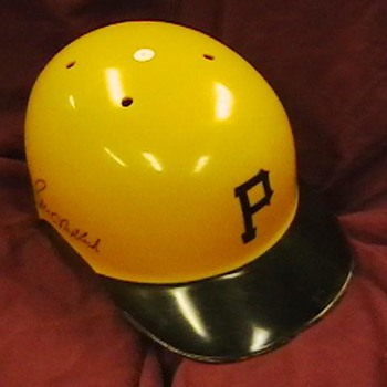 Bill Madlock Autographrd Pirates Batting Helmet - Baseball