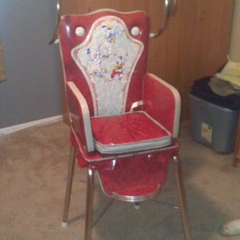 Old High Chair by W.D.P  - Furniture