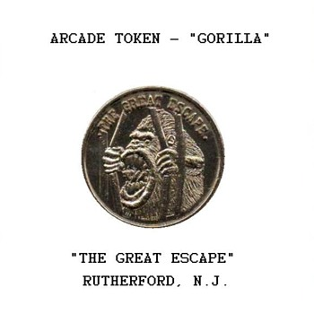 "Arcade Token - ""The Great Escape"""