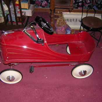 Restored Pedal Car