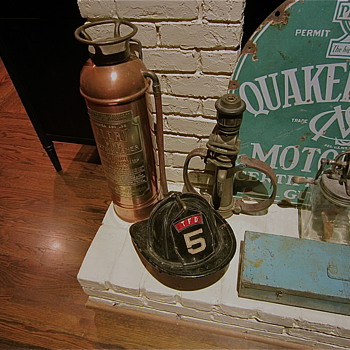 Tennessee Fireman things found today - Firefighting