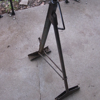 Antique car jack