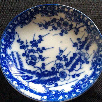 Antique chinese saucer