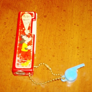 Mickey Mouse Club Flashlight and Whistle - Advertising