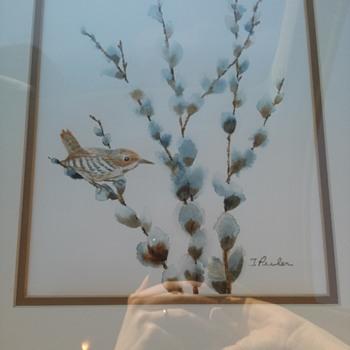 Water color bird - Visual Art