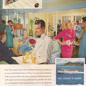 1954 - Matson Lurline Advertisement - Advertising
