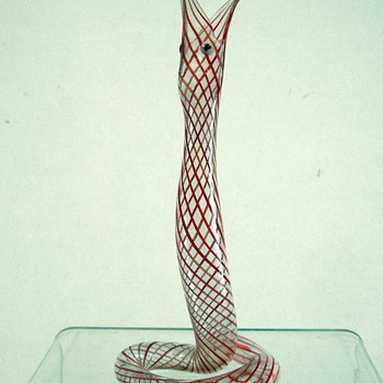 Murano handblown snake from the 1950's