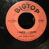 "Big Top Records #2 45 rpm in 1958 of ""I know I know"" -- ""Dont look now---but"""