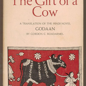 1972 - The Gift of a Cow - Godaan - Books
