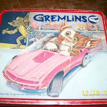 Gremlin metal Lunch box 1984