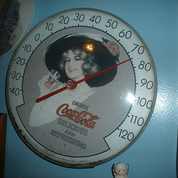coca cola thermometers