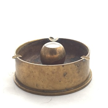 Korean War Trench Art Ashtray - Military and Wartime