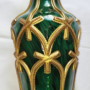 An exciting Harrach Vase