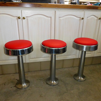 Soda Fountain Stools - Furniture