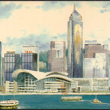 Grand Stanford Hotel - Hong Kong Postcard