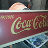 1939 metal Coca Cola sign